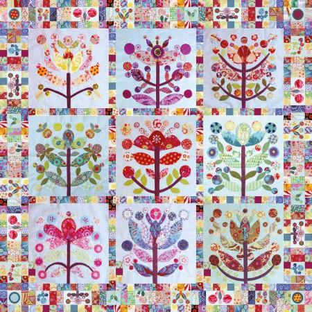Lollypop Tree quilt opmaak