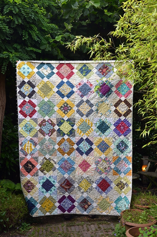 Boy's Nonsense quilt finished 2