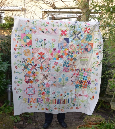 GTSB quilt top finished 7